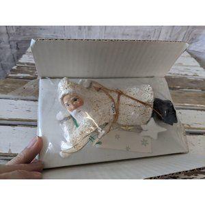 Dept 56 father frost stars ornament Santa Xmas hol